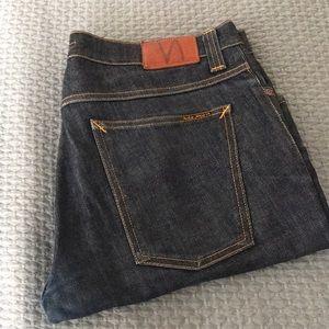 "Nudie ""Grim Tim"" 100% Organic Cotton Jeans"